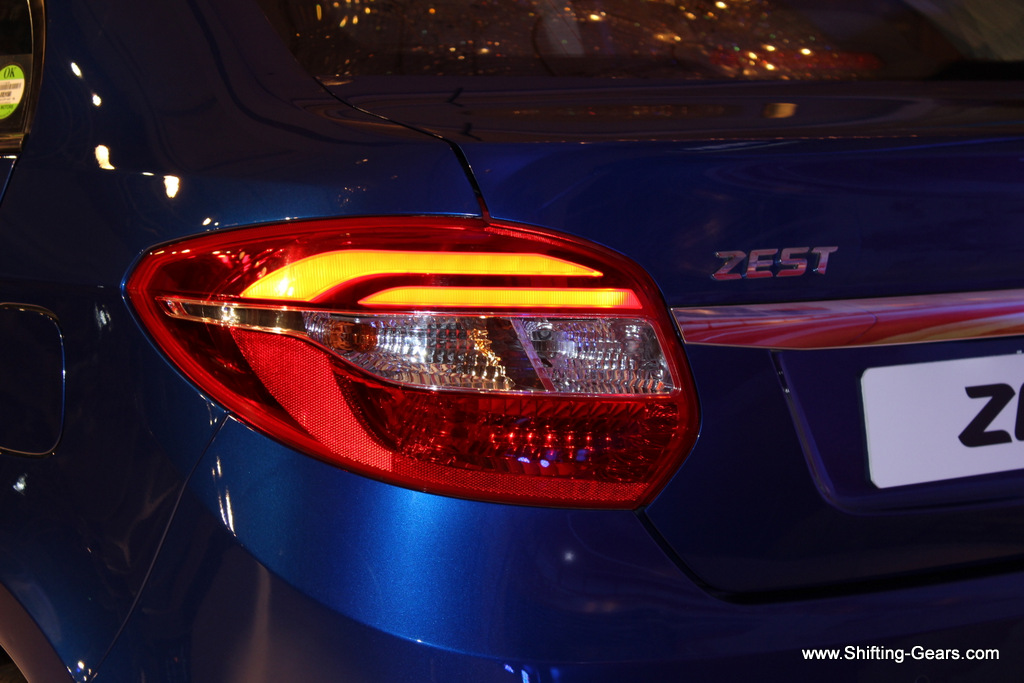 Zest gets LED tail lamps