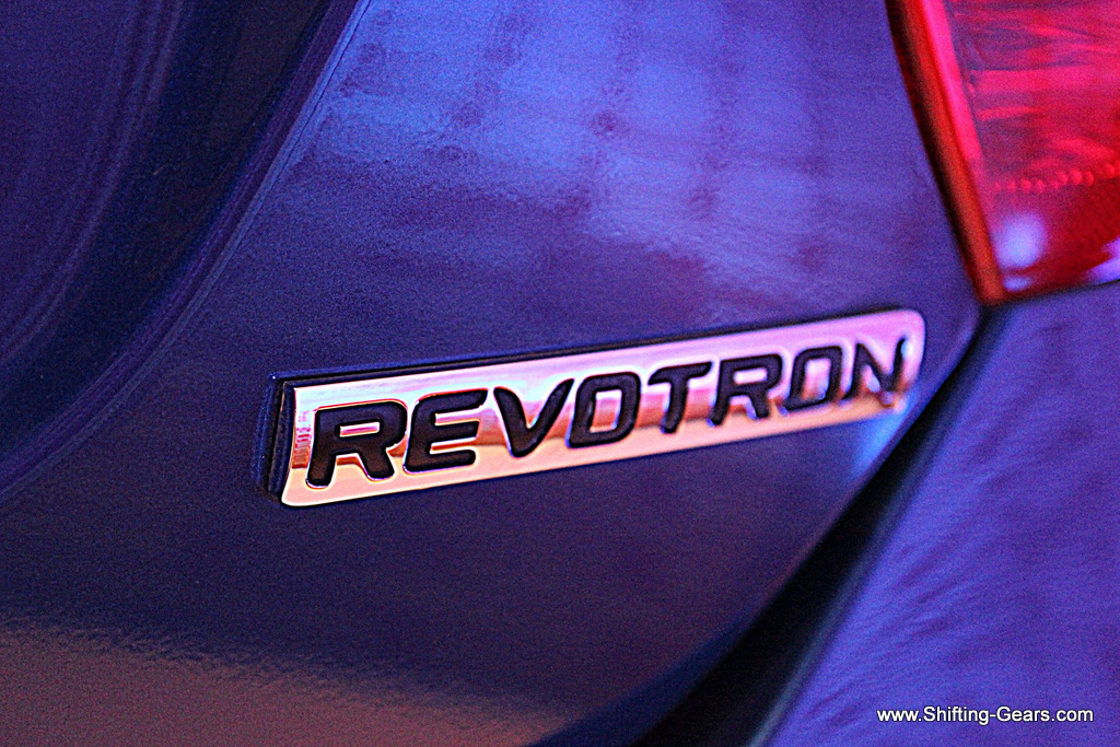 Revotron badge on the petrol powered Tata Zest