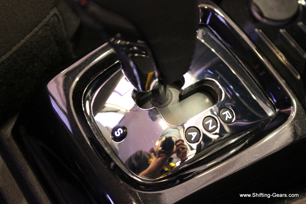 The AMT F-Tronic gear stick