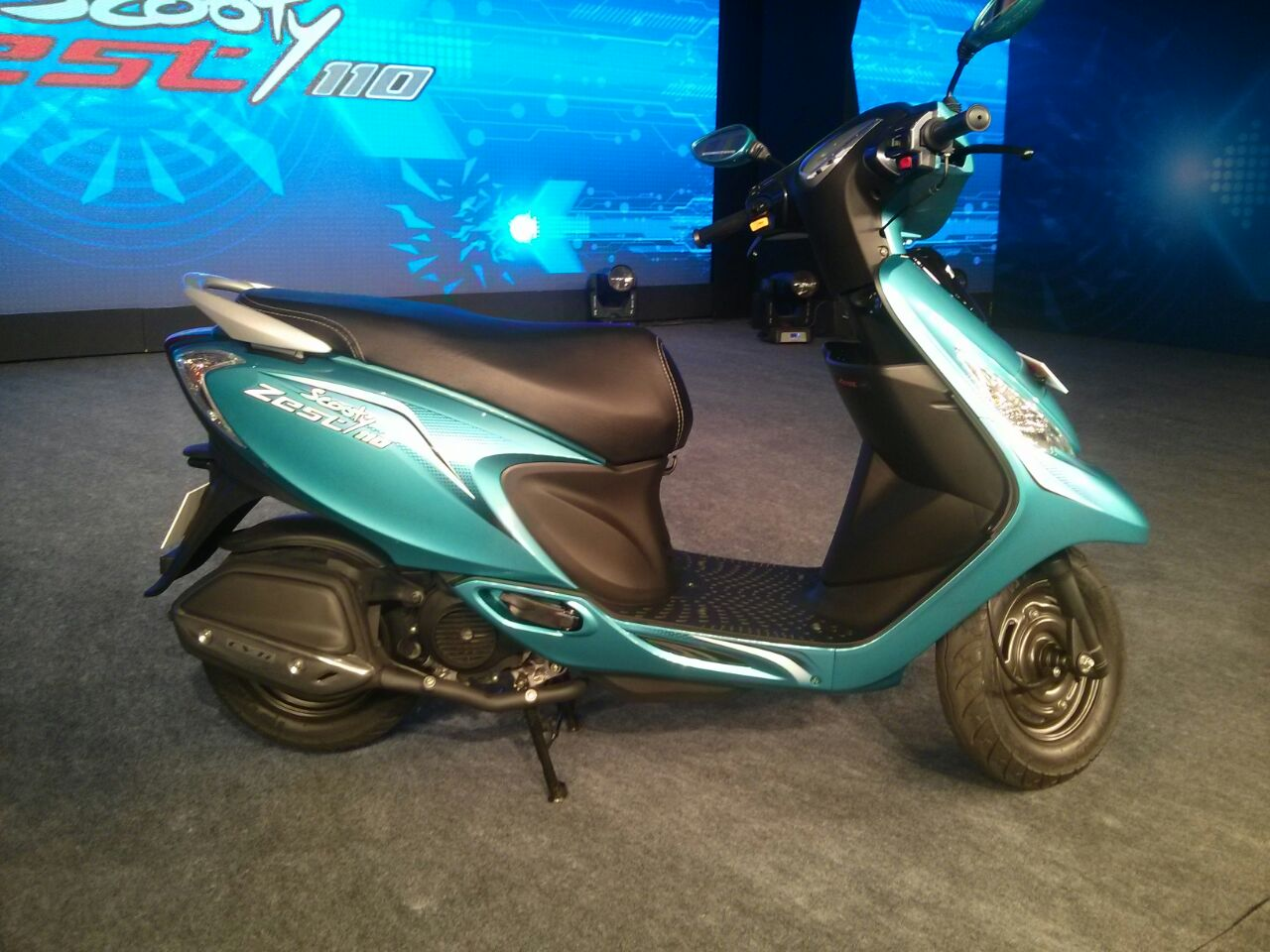 TVS Scooty Zest launched at Rs. 42,300