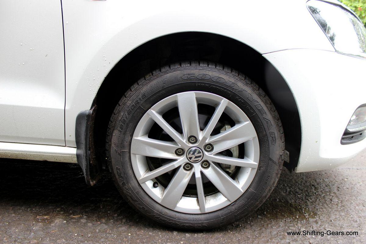"New 15"" Tosa alloy wheels"