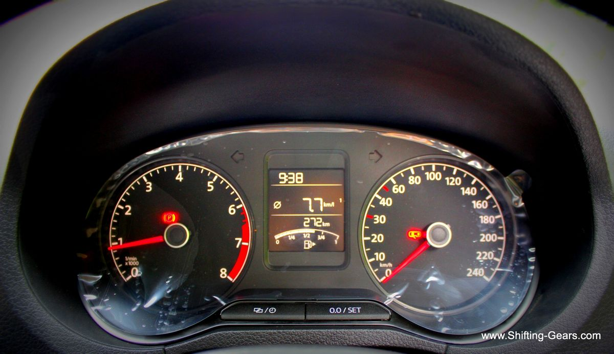 Instrument cluster gets minor revisions and the MID screen is slightly larger too