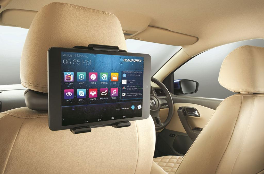 Rear seat entertainment screen