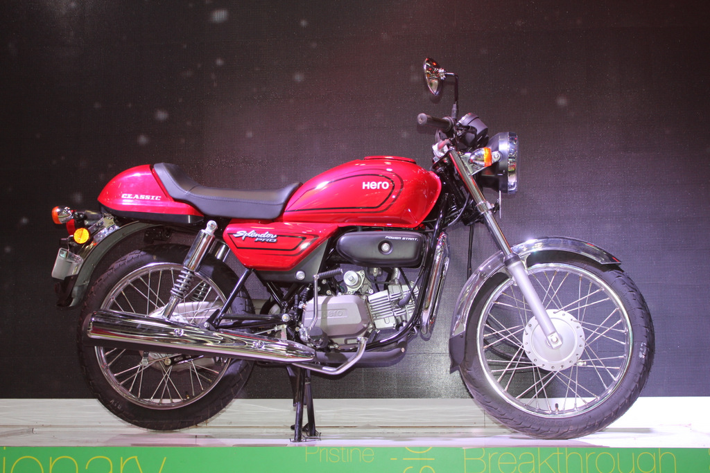 Hero Splendor Pro Classic launched at Rs. 53,900