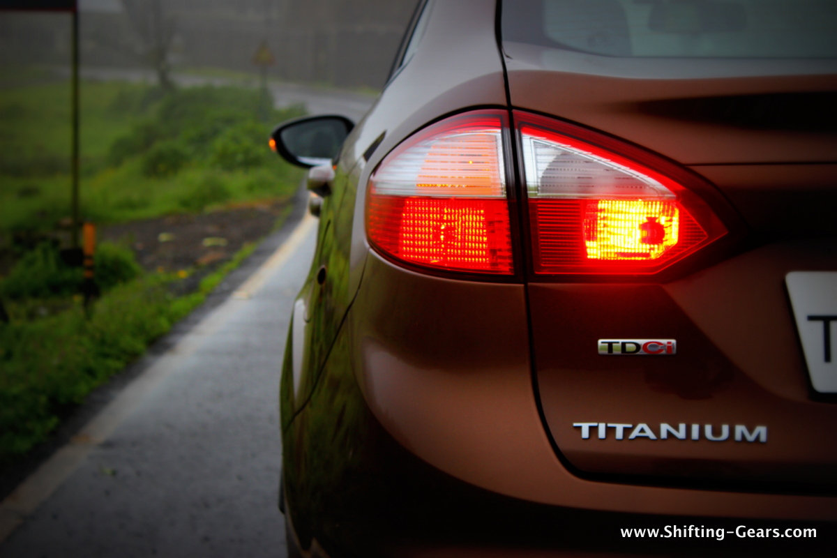 Wrap around tail lamps look good and help get rid of the rear end quirk