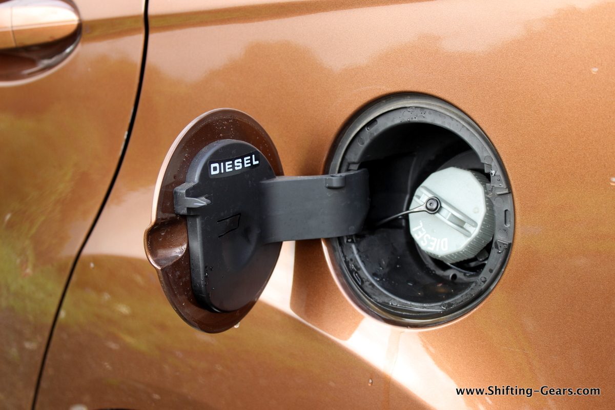 The only food you can feed the Fiesta facelift - DIESEL