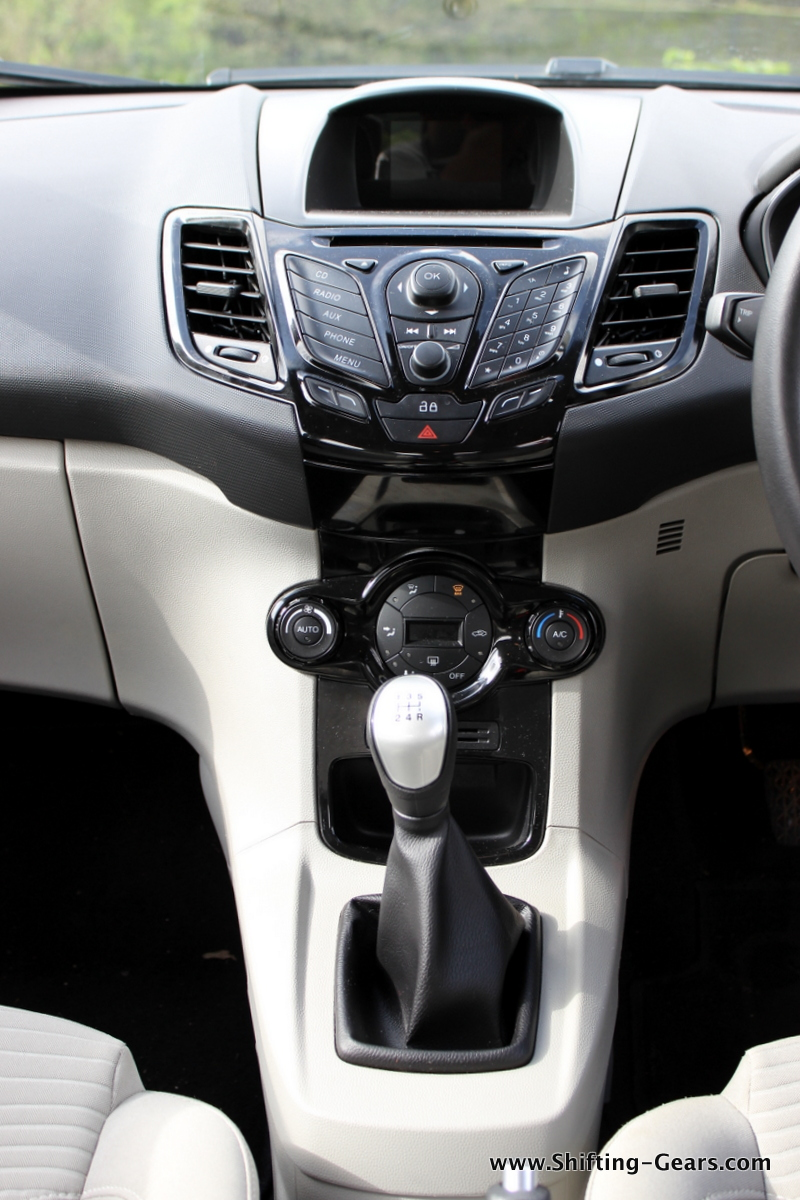 Centre console ditches the silver finish and is in the black shade now, and looks much better this way