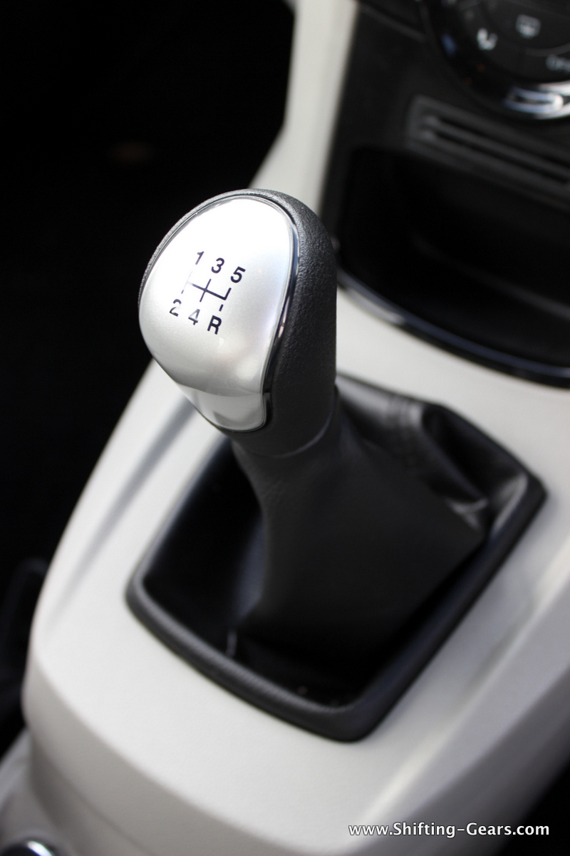 Gear lever has a short throw and enthusiasts will love it