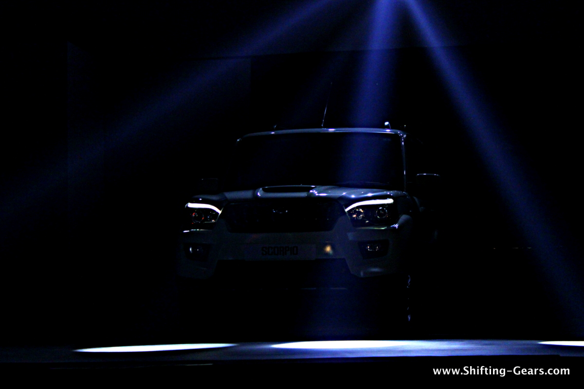 The new Scorpio, making its way to the stage