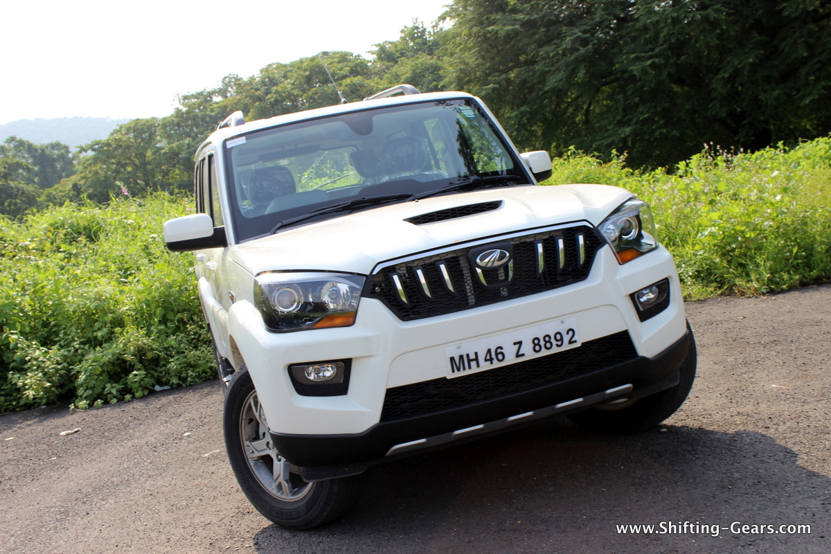 Mahindra Scorpio 4 215 2 First Impression Shifting Gears