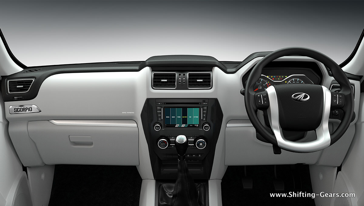 Dual tone light grey and black dashboard theme