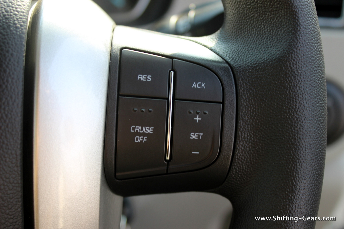 RHS cruise control switches