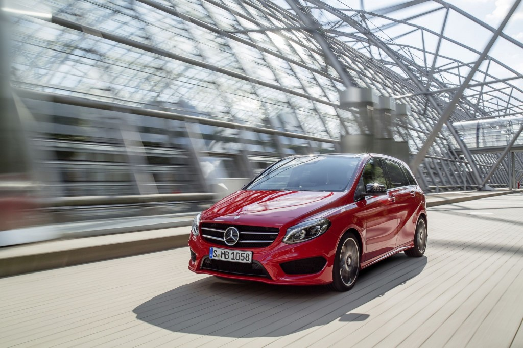 Mercedes-Benz B-Class facelift revealed