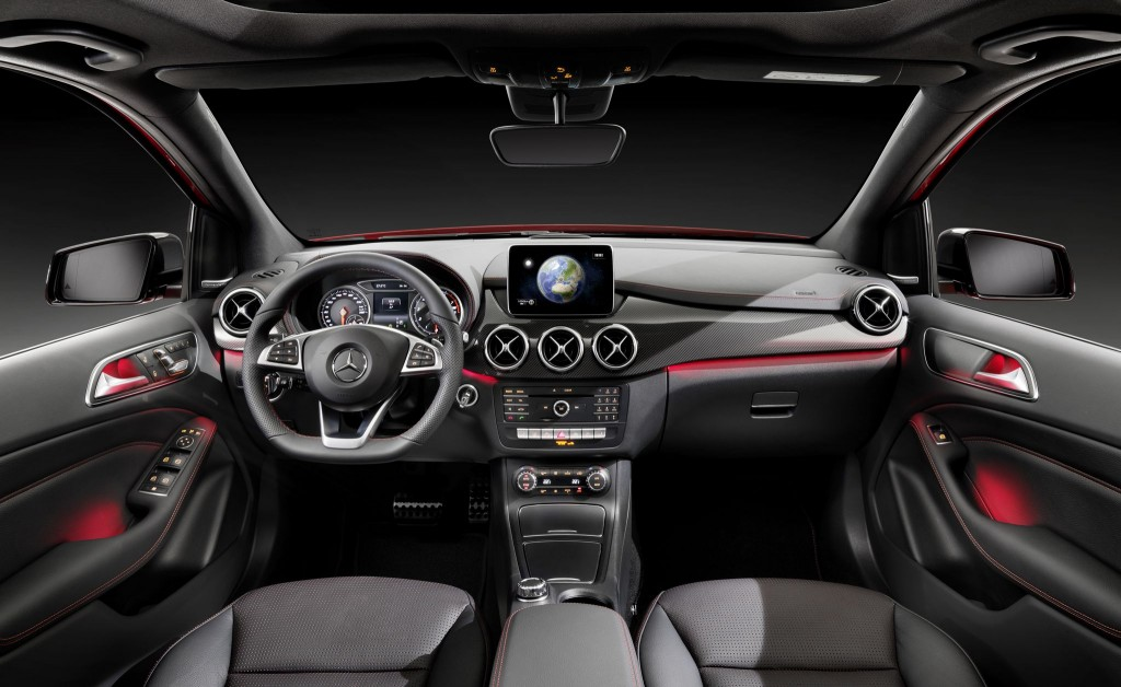 Mercedes Benz B Class Facelift Revealed Shifting Gears