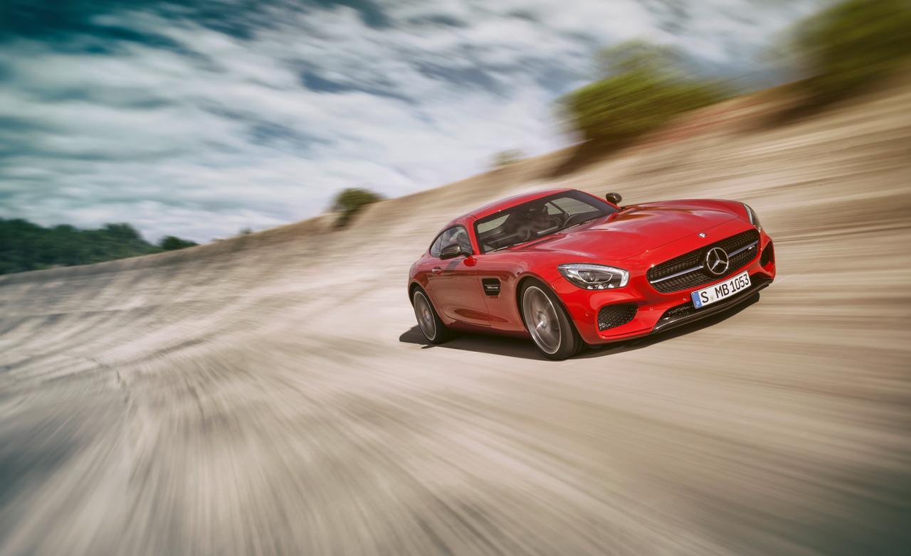 Mercedes-AMG GT revealed