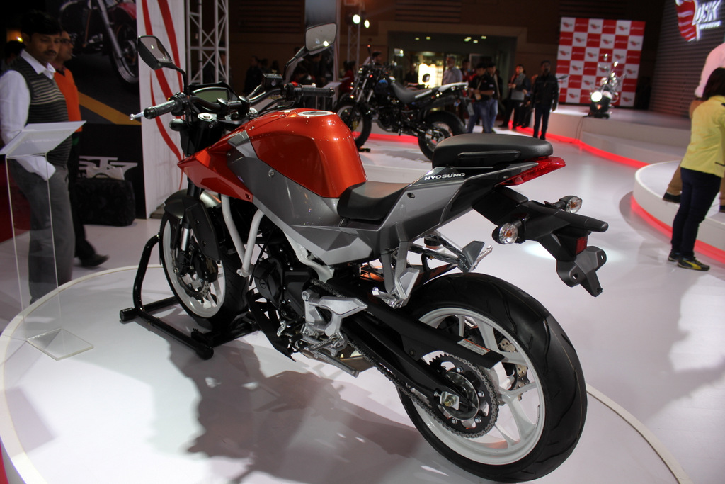 What happened to the Hyosung GD250N?