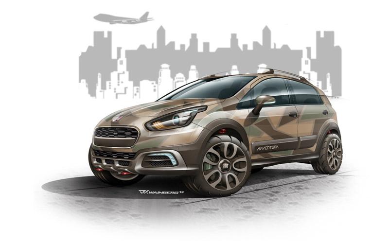Fiat Avventura in pictures, launch in October