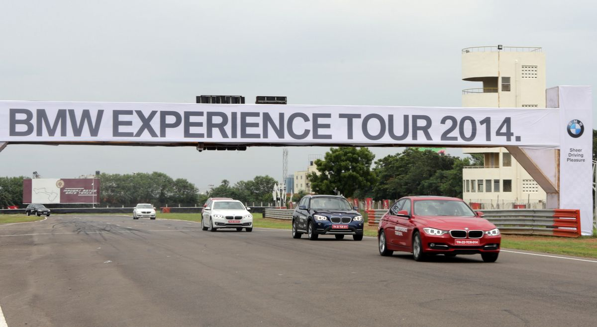 BMW experience tour in Chennai