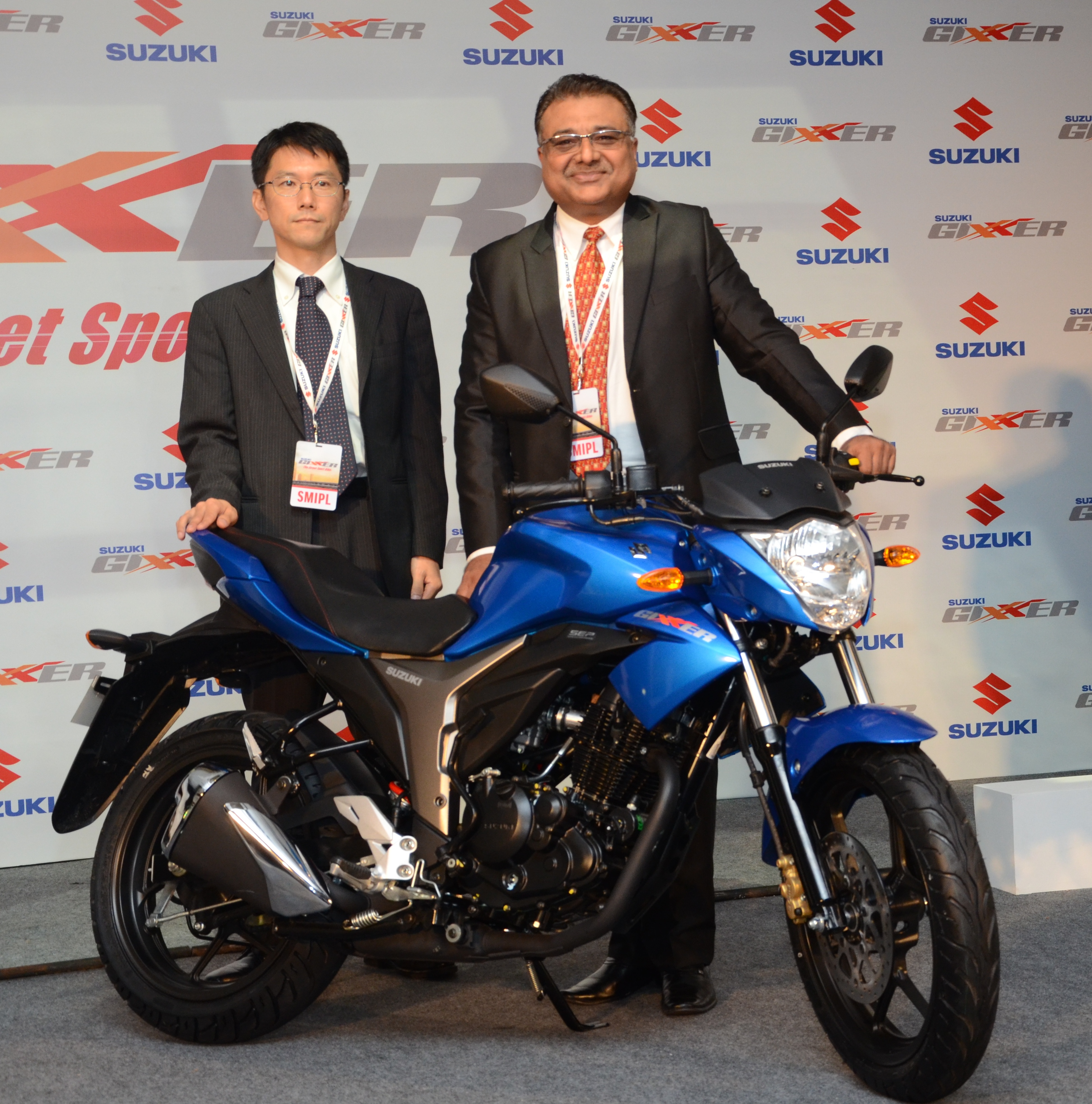 155cc Suzuki Gixxer launched at Rs. 72,199