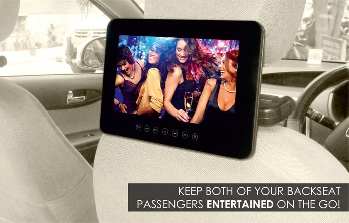 MapMyIndia rear-seat entertainment screens