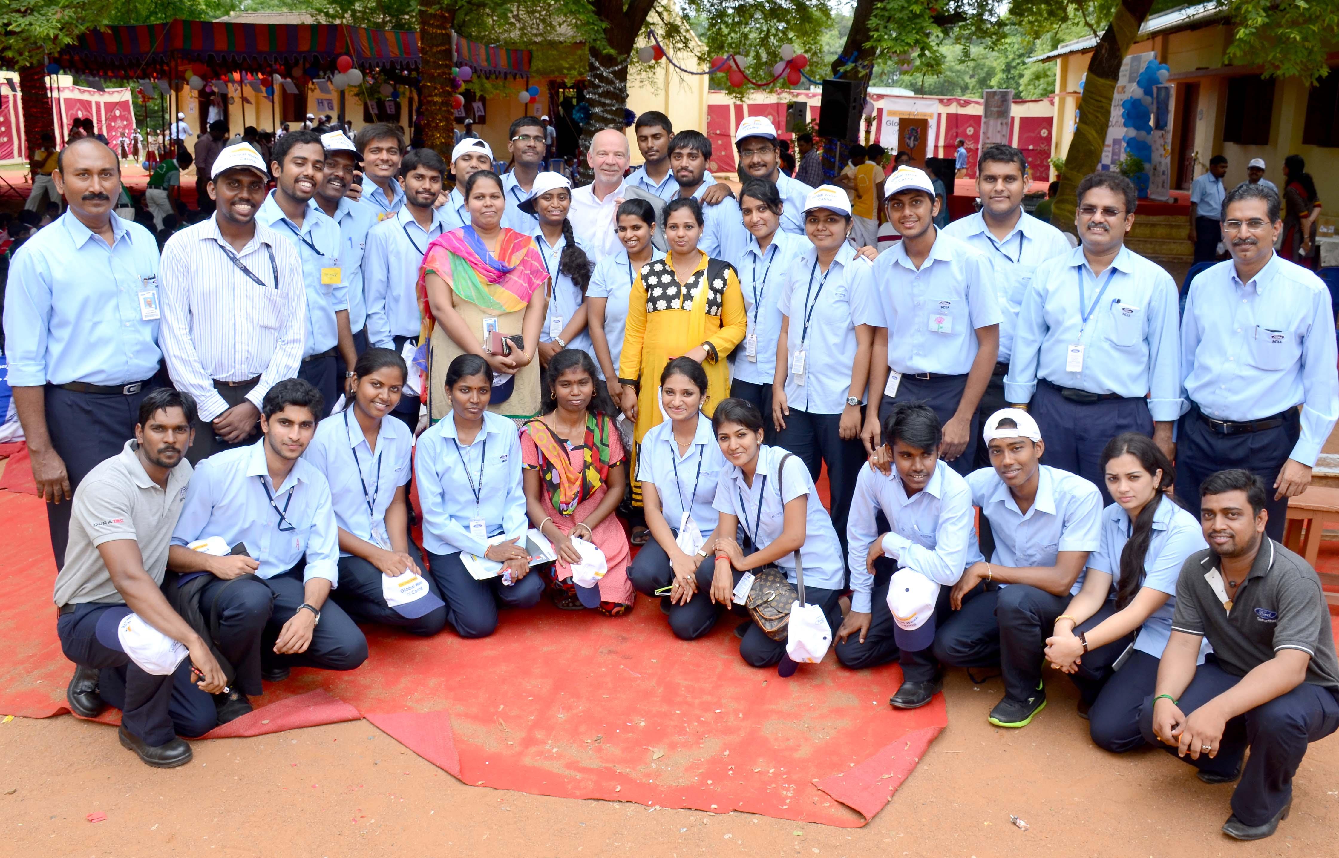 Ford India's happy schools program