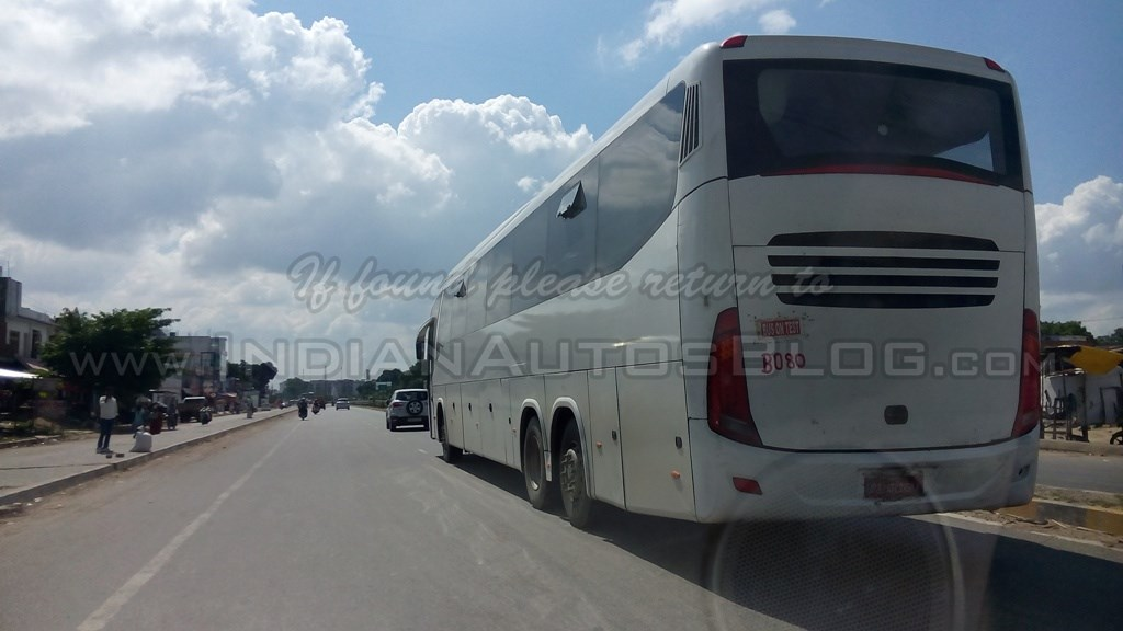 Tata Marcopolo Paradiso G7 multi-axle bus spotted