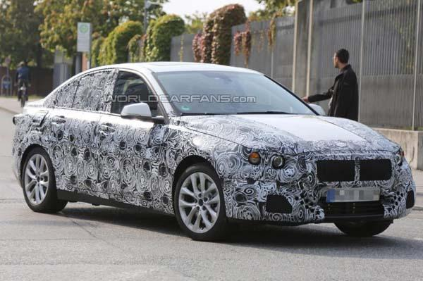 BMW working on 1 Series sedan