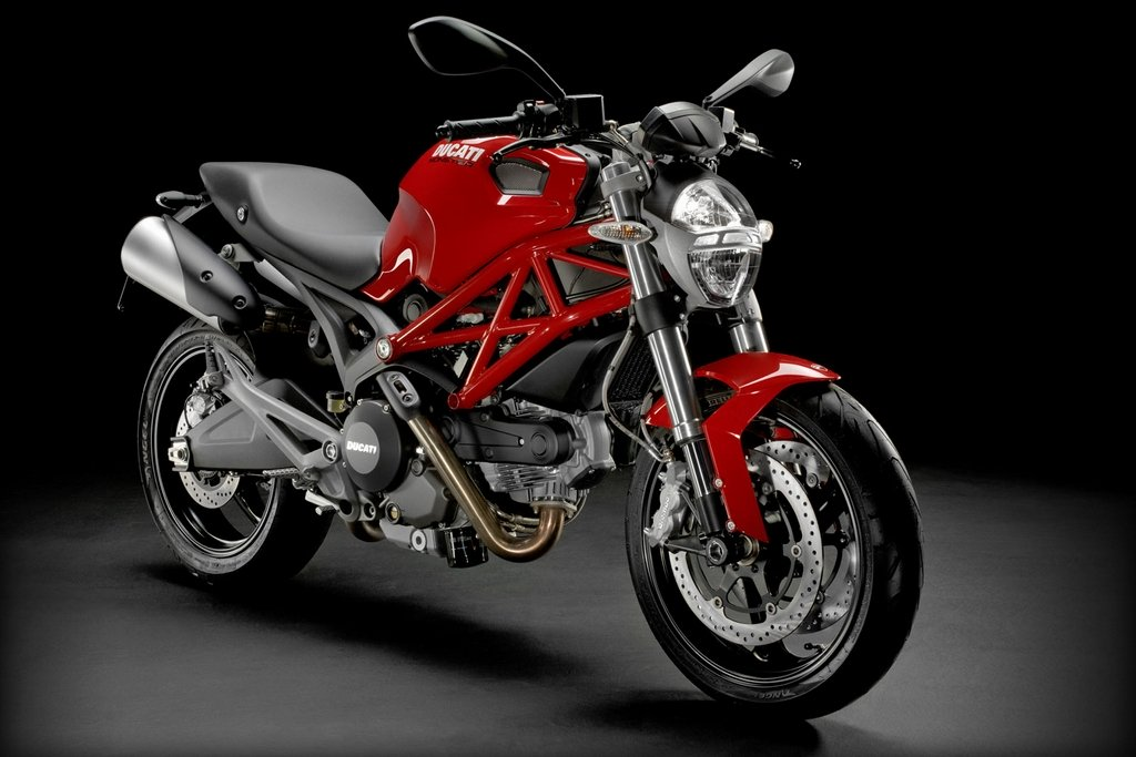 Ducati Monster 696 imported for R&D