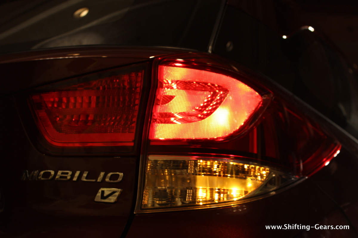 Tail lamp when illuminated