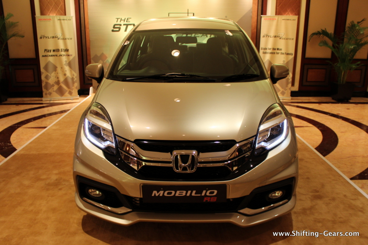 The Mobilio RS will be offered only with a diesel engine