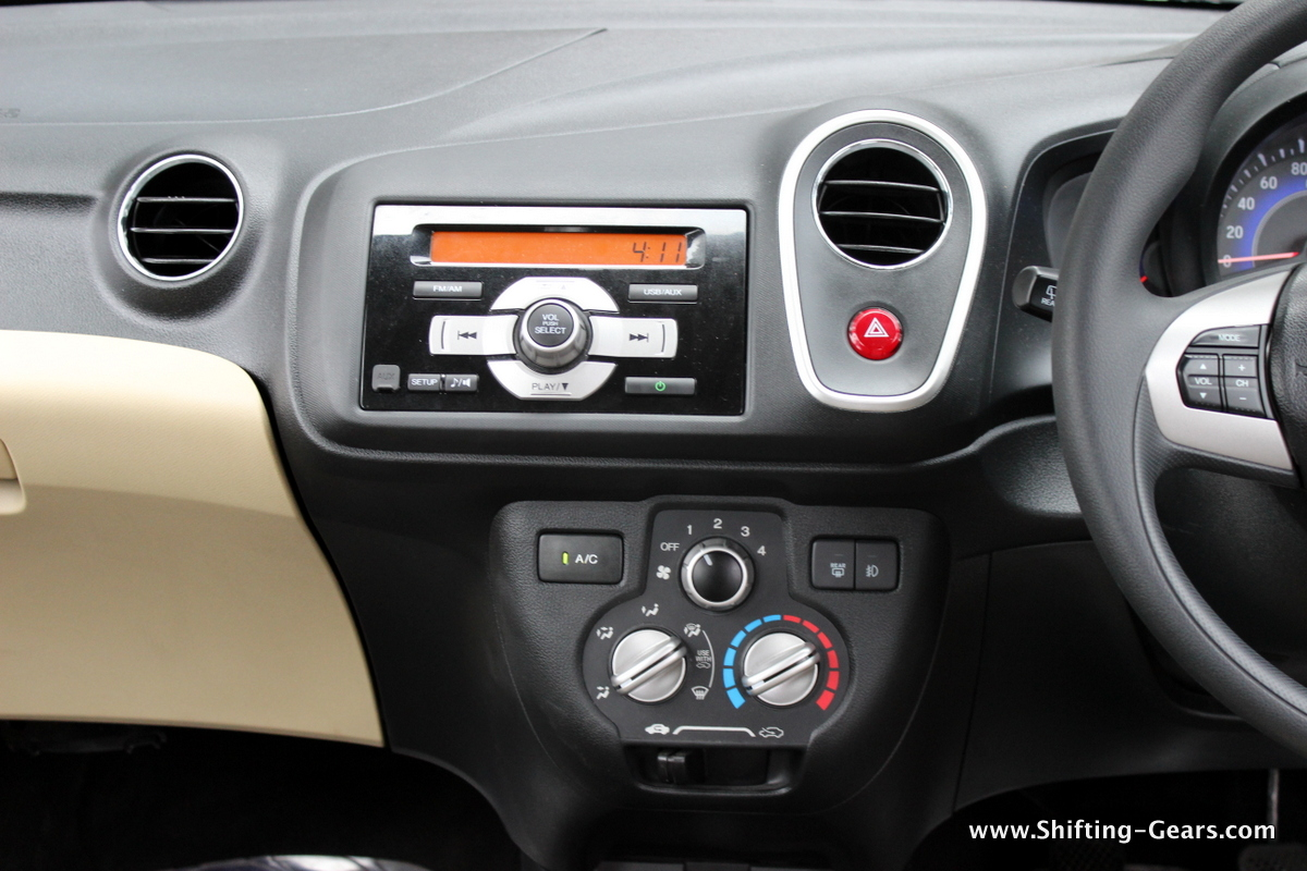 Centre console looks below average
