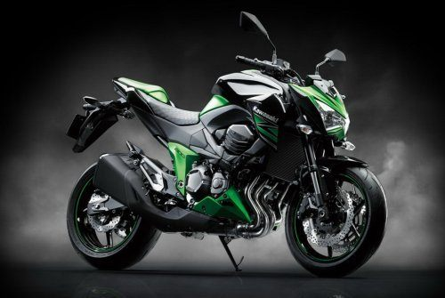 Kawasaki adds green and black paint job on the Z800