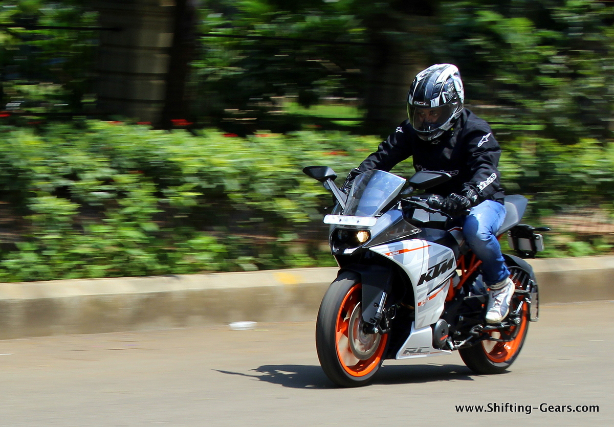 KTM RC390: Ride Report