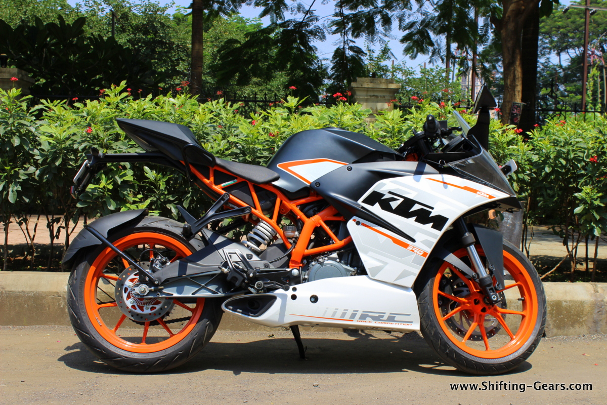 white ktm rc 390 - photo #41