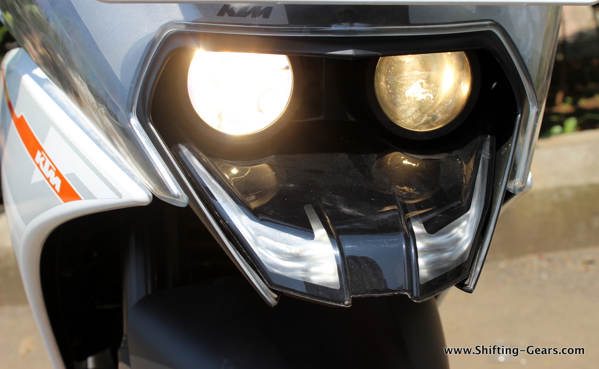 Dual projector headlamps and LED DRLs are a segment first