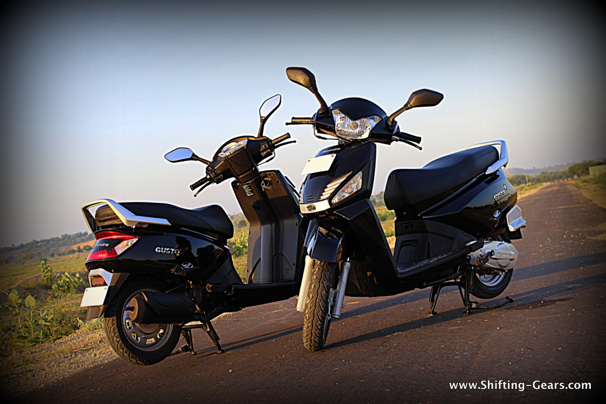 The Gusto will be Mahindra's 6th scooter in the market