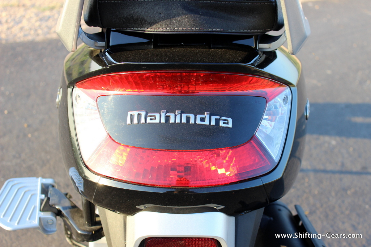 Tail lamp gets a big reflector strip on top