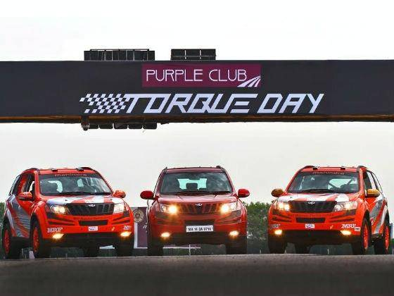 Mahindra Purple Club Torque day in Chennai