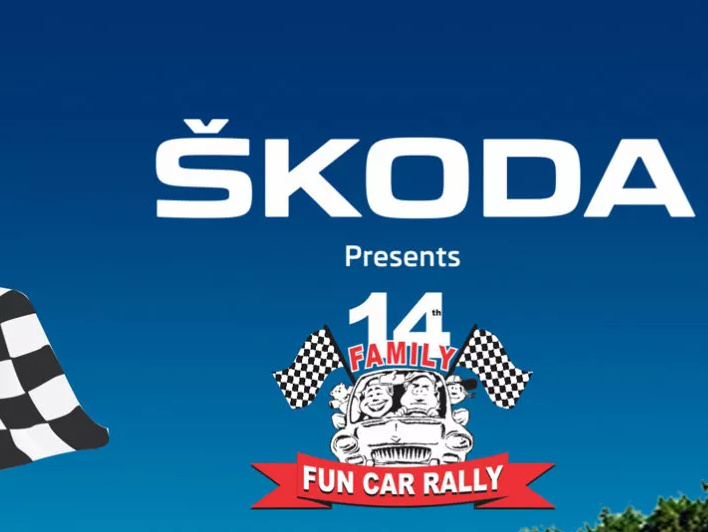 Skoda's family fun car rally
