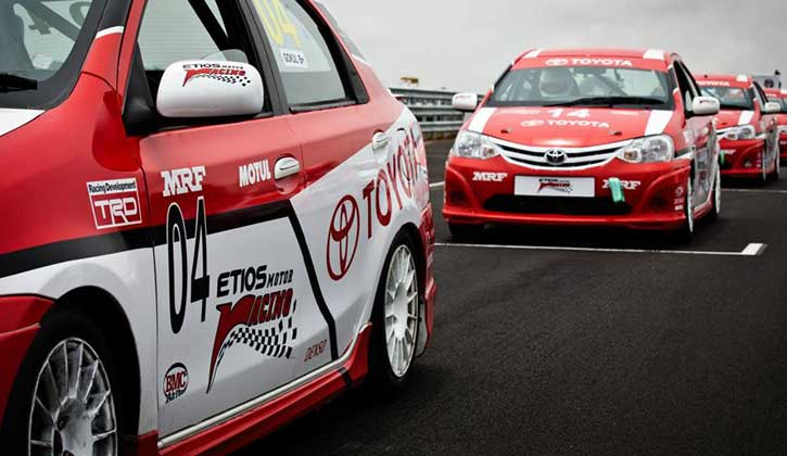 2014 Toyota Etios Motor Racing final at BIC