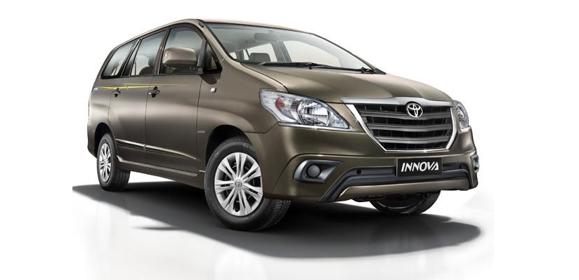 Toyota Innova limited edition launched at Rs. 12.90 lakh