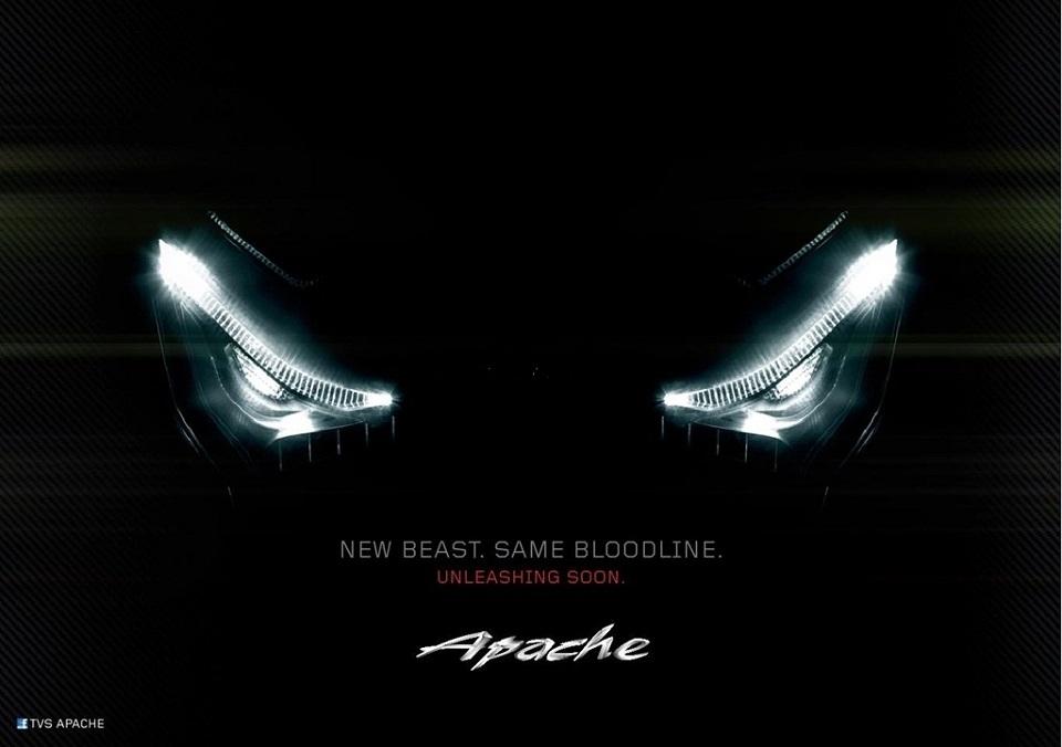 TVS Apache RTR180 facelift details emerge