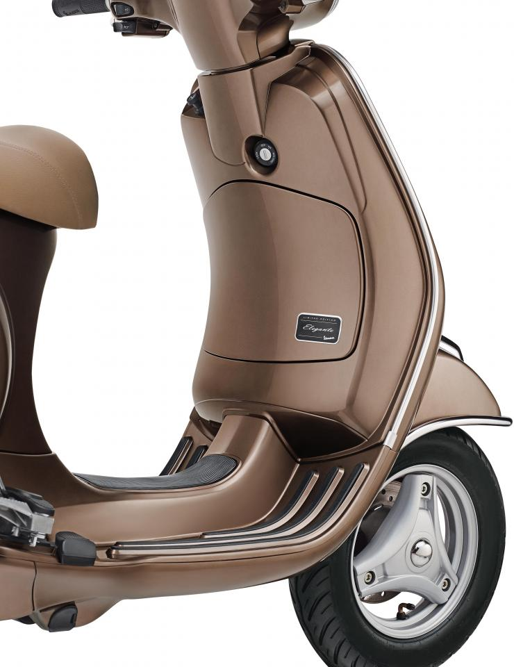 Vespa Elegante limited edition launched at Rs. 78,999