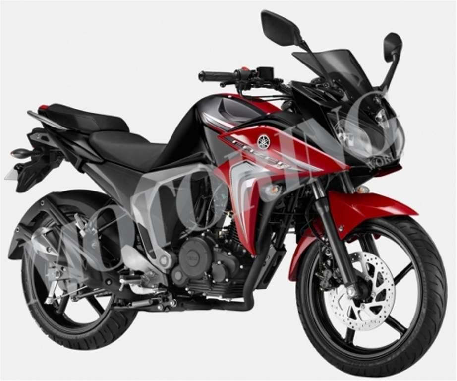 Yamaha Fazer Version 2.0 images leaked