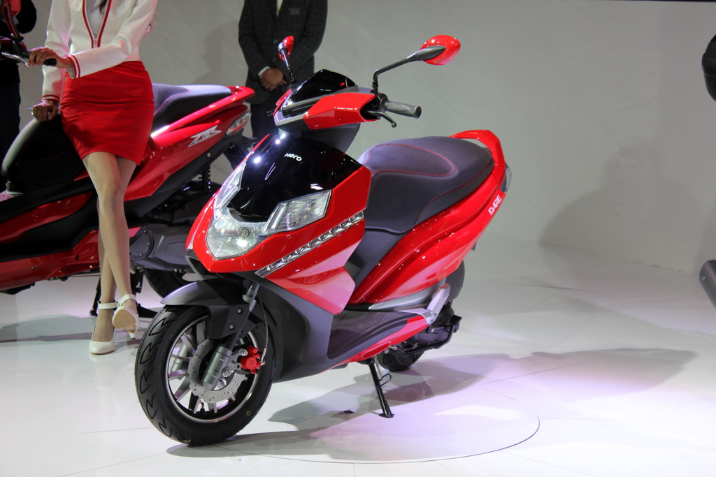 Two new scooters from Hero MotoCorp next year