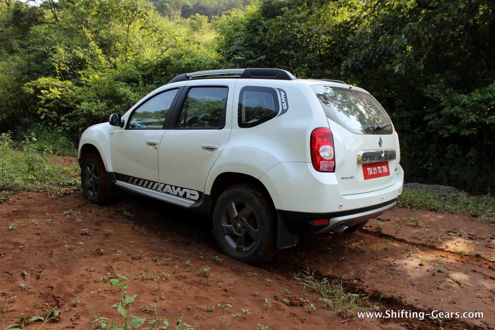 Compared to other full-size SUVs, the Duster squats significantly