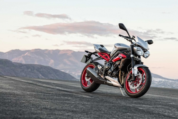 Triumph Street Triple RX for India