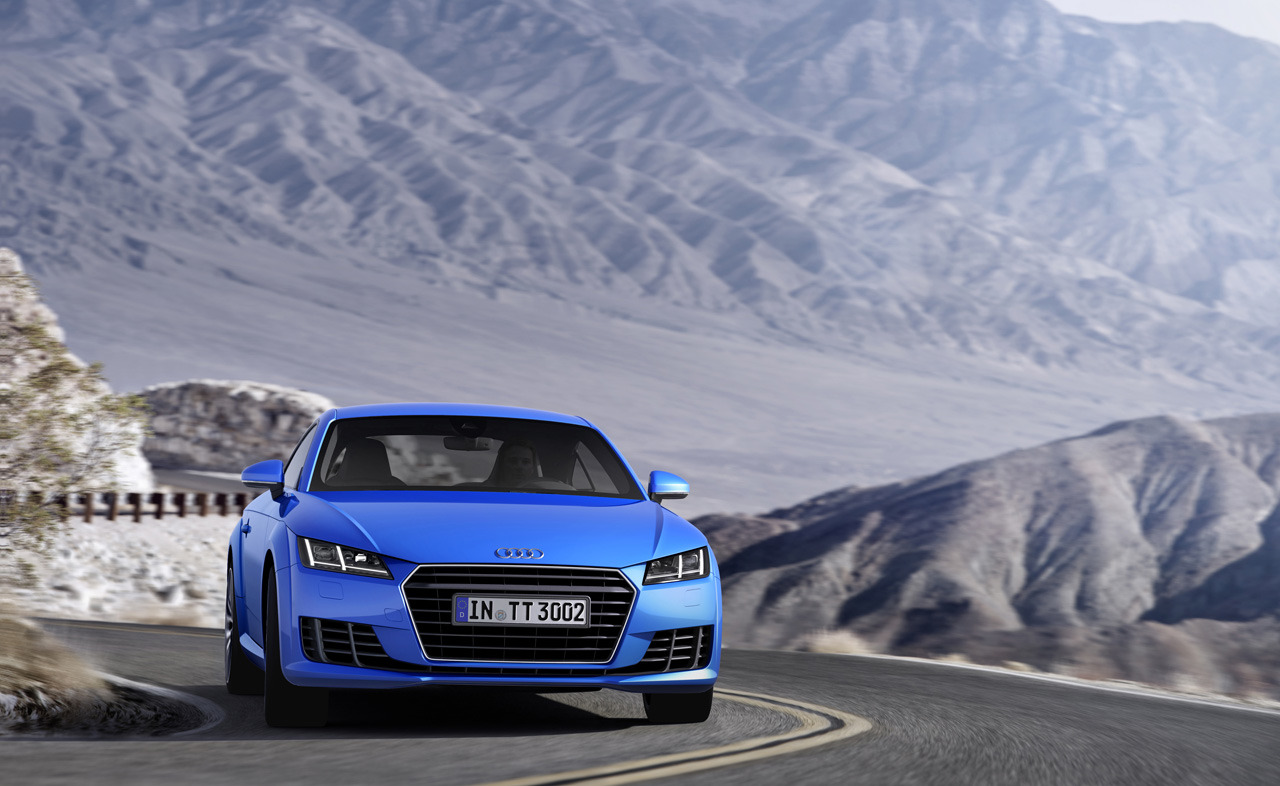 Audi TT launch in 2015