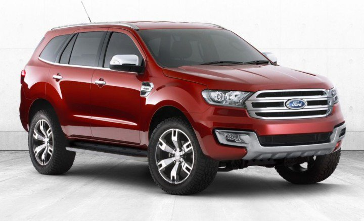 2015 Ford Endeavour to be revealed in November