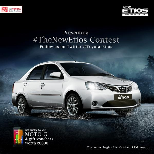Toyota starts promotional activities for Etios facelift